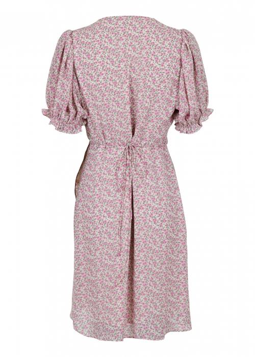 Spang camellia dress LIGHT PINK