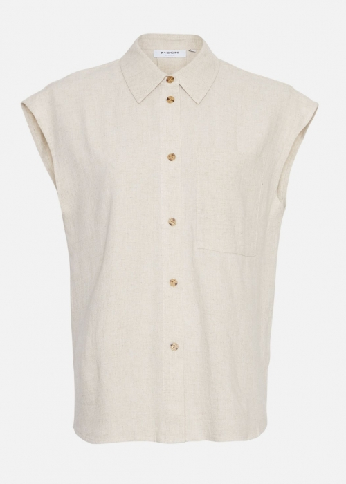 Babetta Smia SS Shirt WOOD ASH