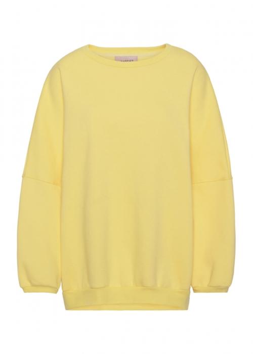 Ava sweatshirt LIGHT YELLOW
