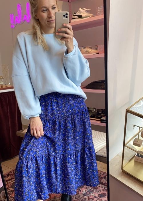 Ava sweatshirt LIGHT BLUE