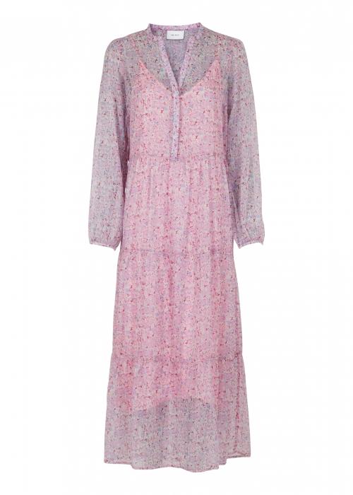 Nobis vivid botanic dress ROSE