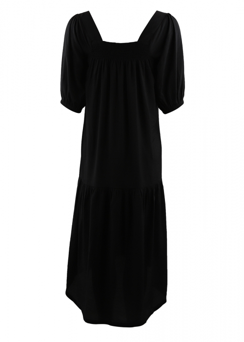 Rose Long dress BLACK