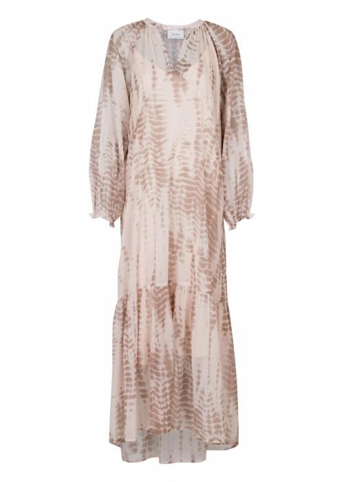 Hallas easy tie dye dress SAND