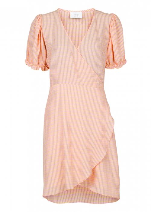 Spang spring stripe dress LIGHT YELLOW