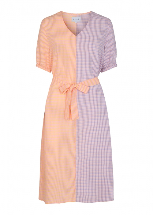 Benitta SS Dress MIX CHECK