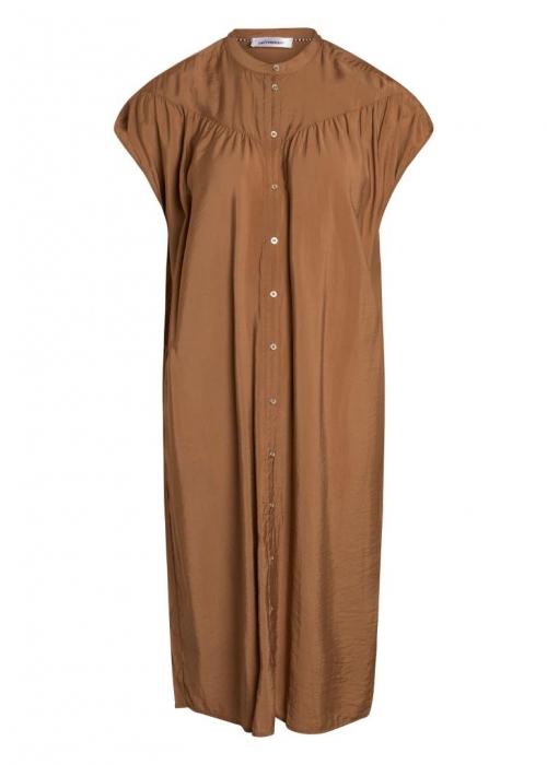 Callum Dress SUNTAN