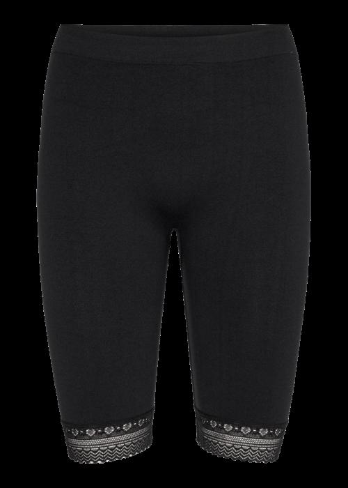 Ninna lace shorts BLACK