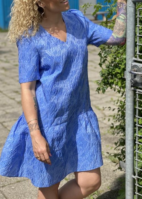 Eriona dress HERON BLUE